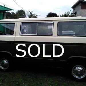 vw t3 anno 1980 motore 1600 benzina con 9 posti (venduto-sold)