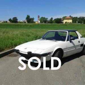 FIAT X 1/9 1300cc anno 1973 (Venduta – Sold)