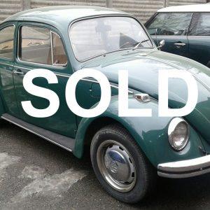 Volkswagen Maggiolino primo semestre 68 vetro piatto