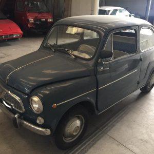 """Fiat 600 D """"porte a vento"""" del 1963"""