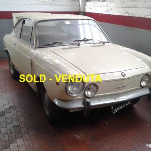 VENDUTA !!! FIAT 850 SPORT COUPE DEL 1968