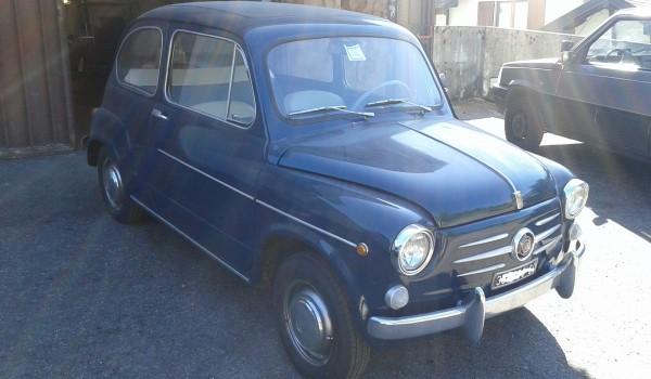 Fiat 600 D raro modello del 64