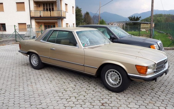MERCEDES BENZ SLC 350 1972