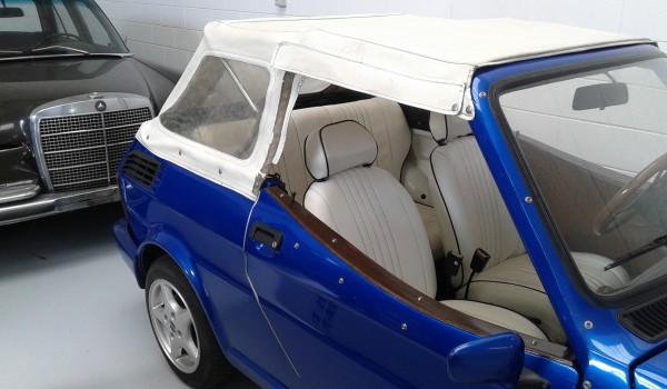 FIAT 126 CABRIO anno 1989