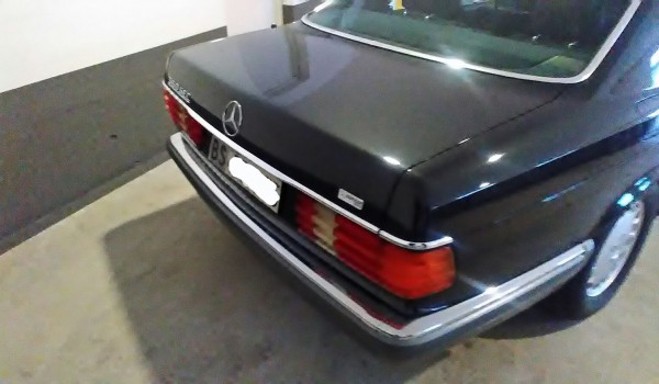 MERCEDES BENZ 560 SEC anno 1989