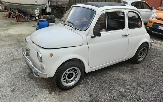 FIAT 500 L del 1971 completamente restaurata