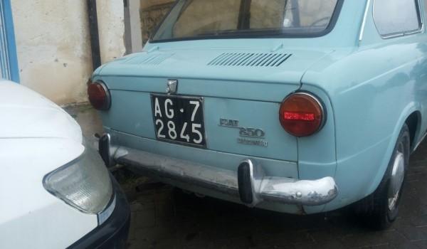 FIAT 850 IDROCONVERT DEL 1971
